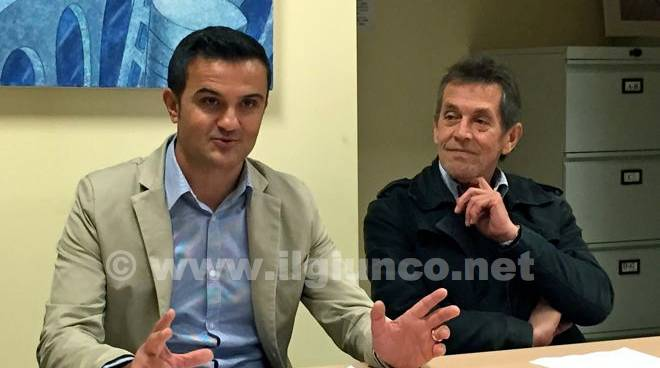 Francesco Limatola e Ezio Vecchioni