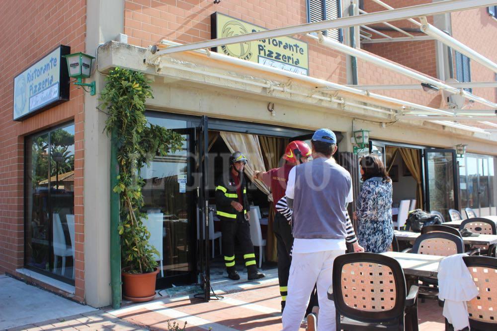 Incendio ristorante Marina 2015