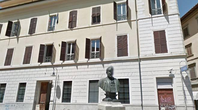 Piazza Socci Archivio di Stato