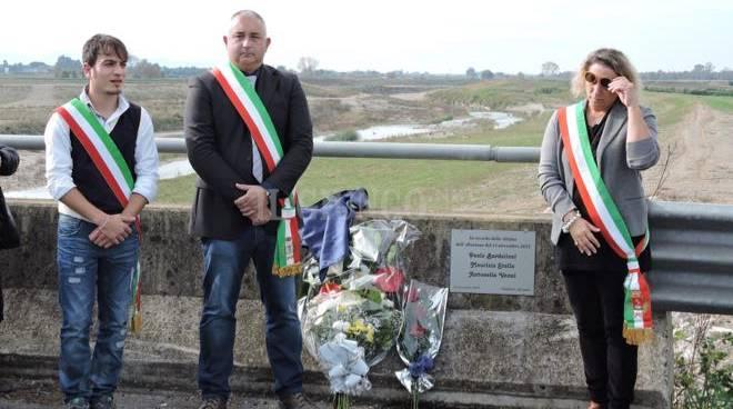 Commemorazione vittime alluvione 2015