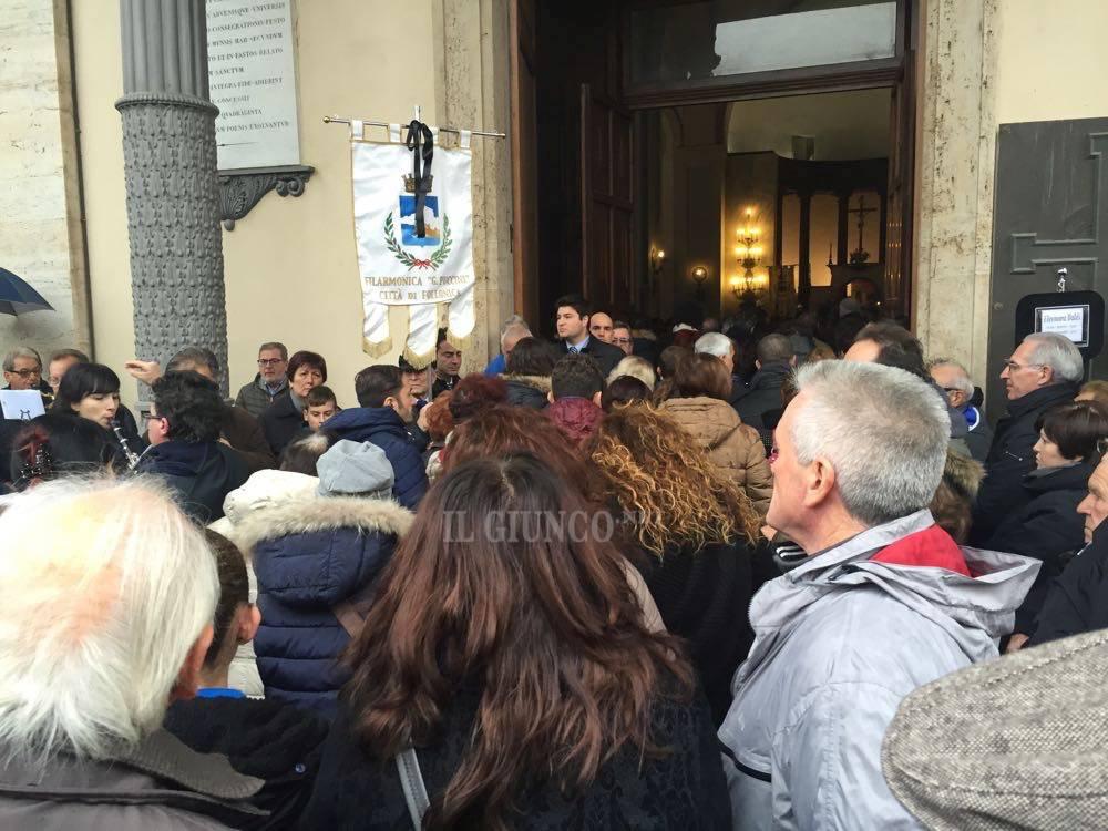Funerali Eleonora Baldi