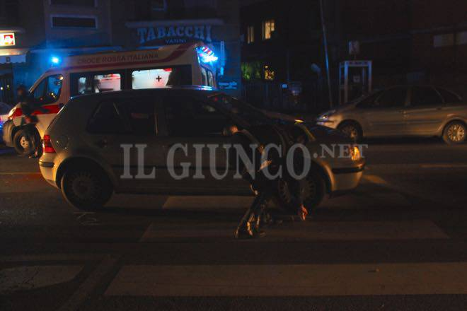 Incidente investito in città novembre 2015