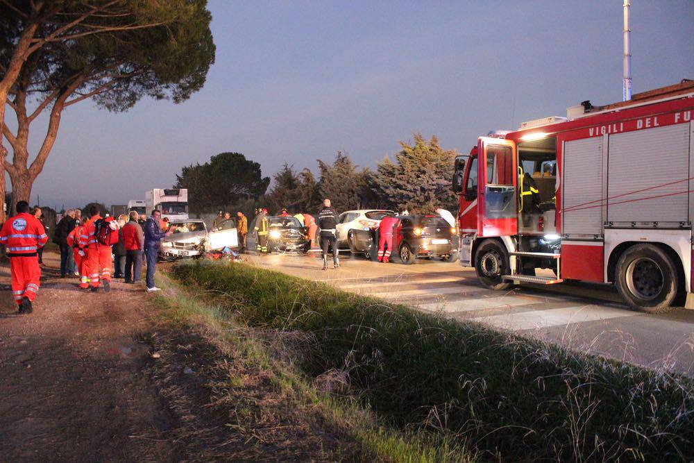 Incidente Rugginosa 30 novembre 2015