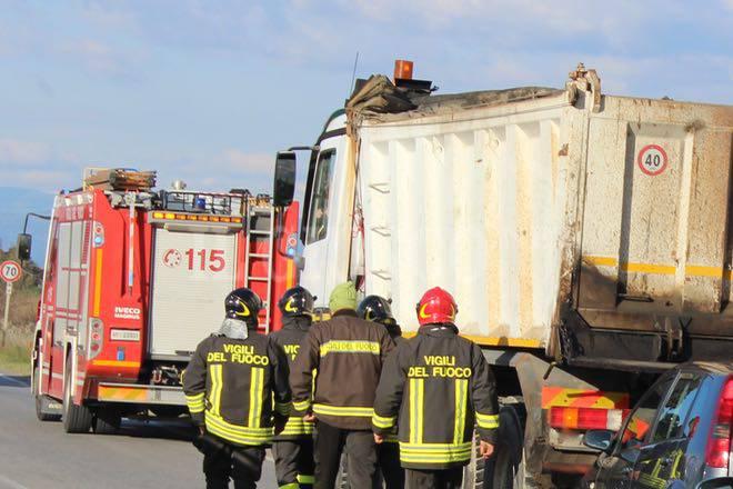 Incidente Rugginosa novembre 2015