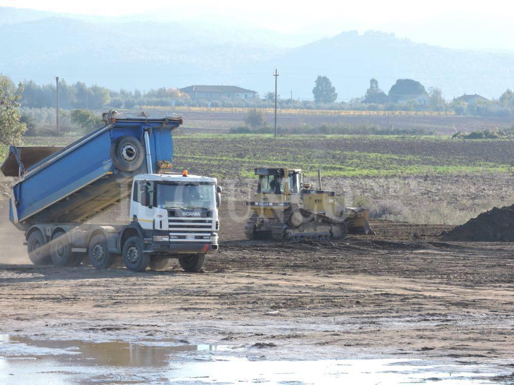 Lavori Albegna cantieri su fiume