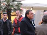 Manifestazione contro terrosmo Orbetello