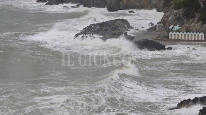 mareggiata costa sud