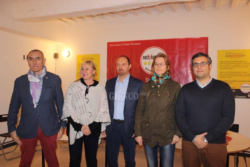 Movimento 5 Stelle Giacomo Gori candidato