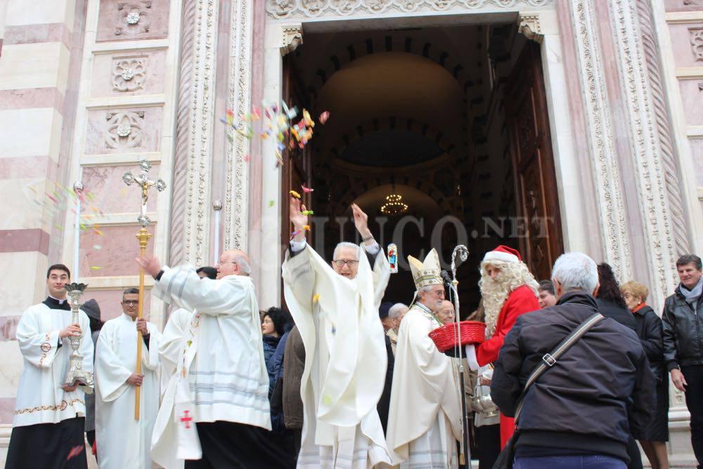 Babbo Natale Piazza Duomo 2015