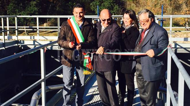 Inaugurazione depuratore Roccatederighi