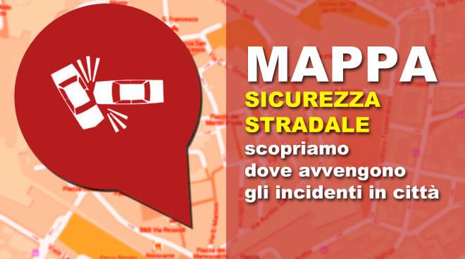 Mappa sicurezza stradale