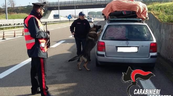 posto blocco carabinieri orbetello