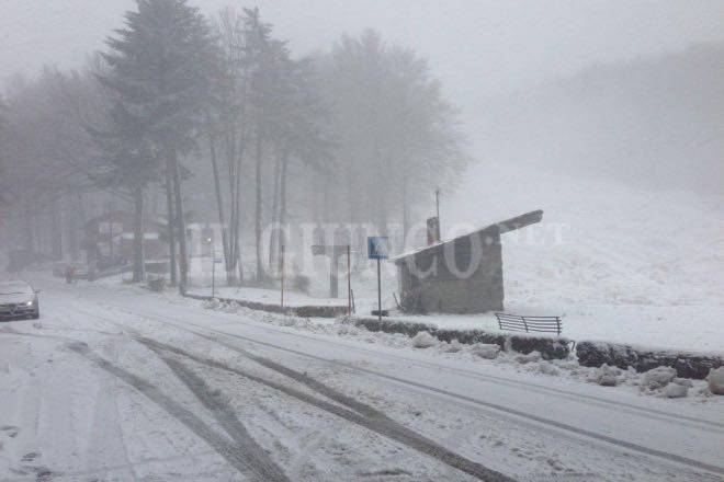 Amiata neve dell'Epifania 2016