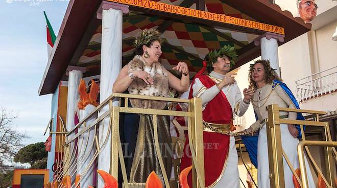 Carnevale Follonica 2016: Re Carnevale e reginette
