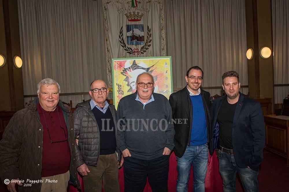 Conferenza stampa Carnevale di Follonica 2016