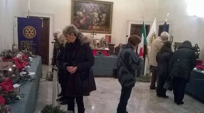 mostra presepe palazzo vescovile