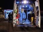 Incidente Aurelia Nord (Febbraio 2016) ambulanza