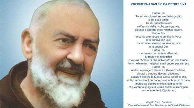 Preghiera Padre Pio - Angelo Comastri