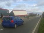 Tir Camion fuori strada Aurelia