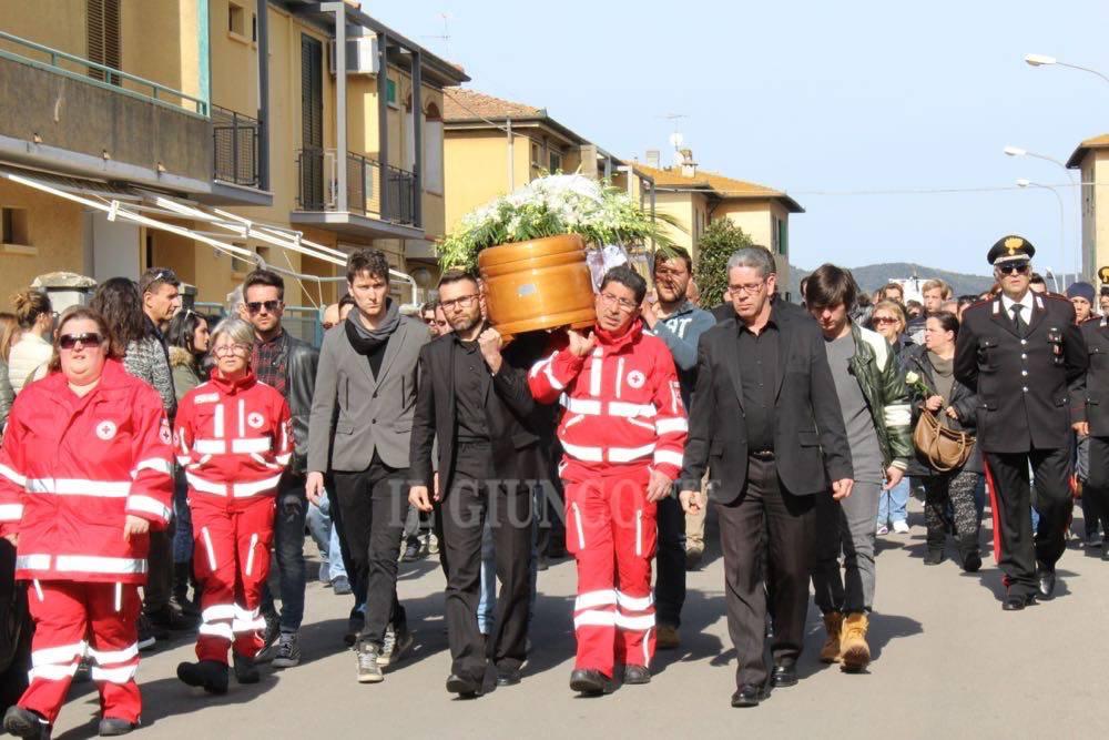 Funerali di Elena Maestrini