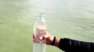 bottiglia inquinamento