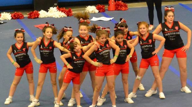 Cheerleader Grosseto Olimpia