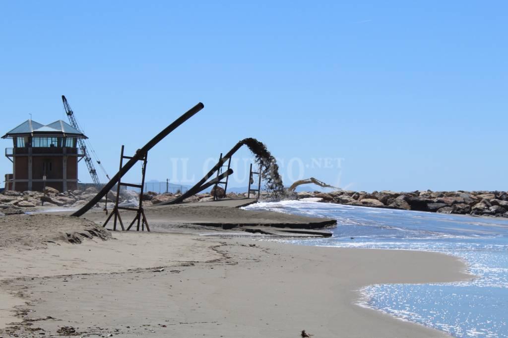 Dragaggio Porto Spiaggia