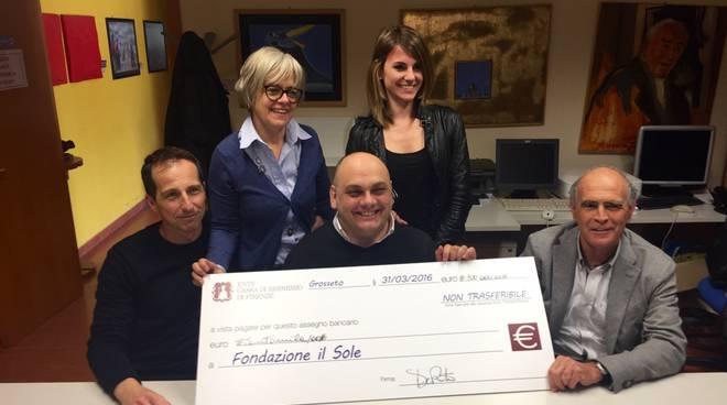 Fondazione Il Sole donazione