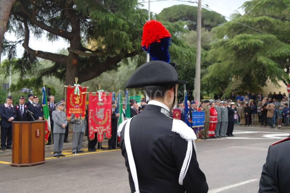 Intitolazione Caserma Carabinieri Alberese