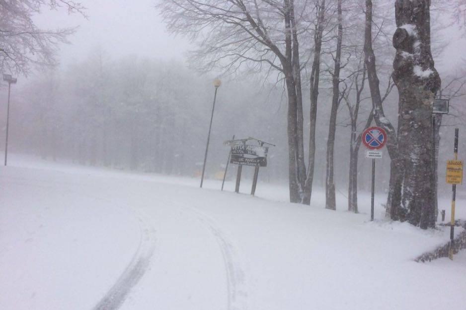 Neve Amiata 25 aprile