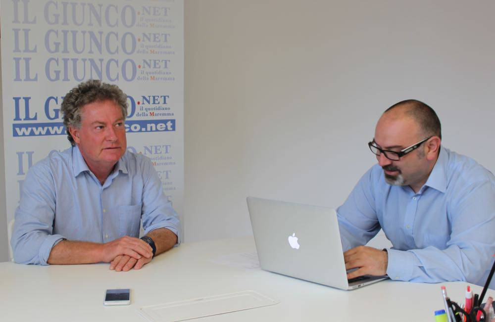 #ElezioniGrosseto16: Carlo Vivarelli in redazione