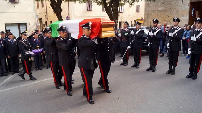 Funerali maresciallo Pafumi dei Carabinieri
