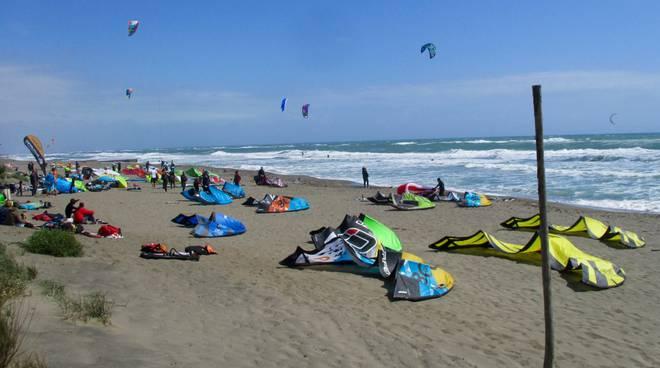 Kitesurf Capalbio
