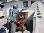 Miniera Ribolla - monumento al minatore