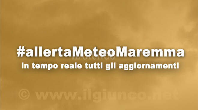 #allertaMeteoMaremma