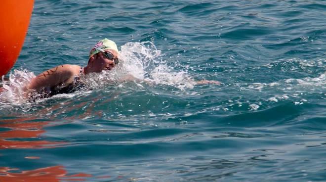 Arianna Ferrari nuoto di fondo