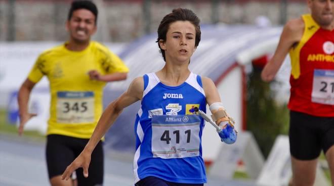 Atletica paralimpica Bagaini