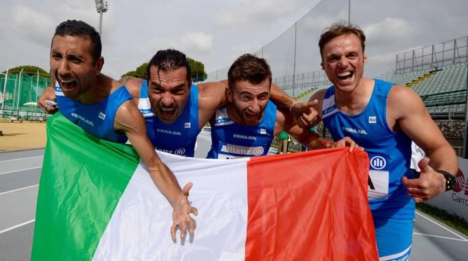Atletica paralimpica Europei Grosseto