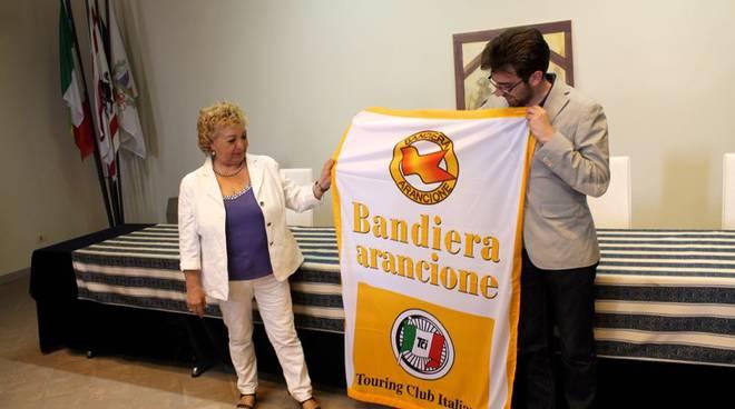 bandiera arancione Santa Fiora