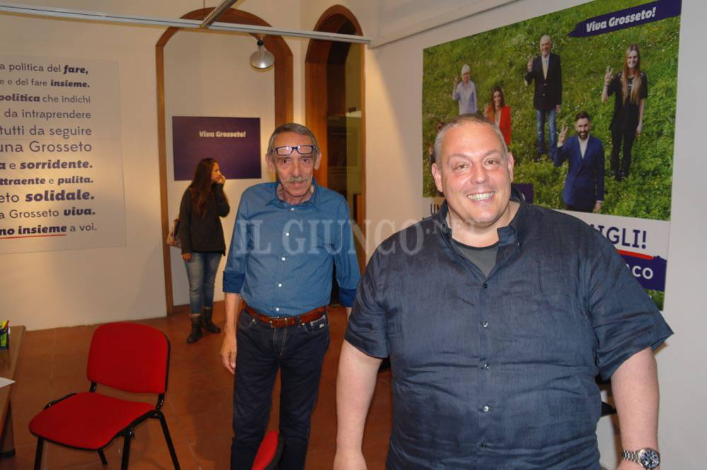 #ElezioniGrosseto16 attesa Antonfrancesco Vivarelli Colonna