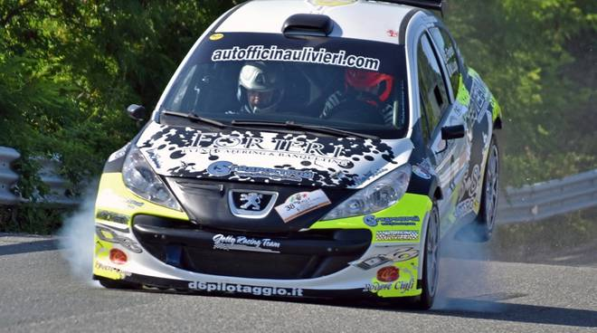Forieri Rally Peugeot 207
