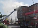 Incendio Grosseto sud