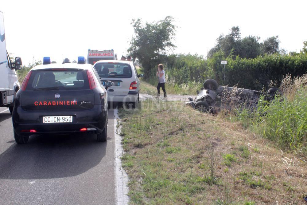 Incidente strada Pollino 2016
