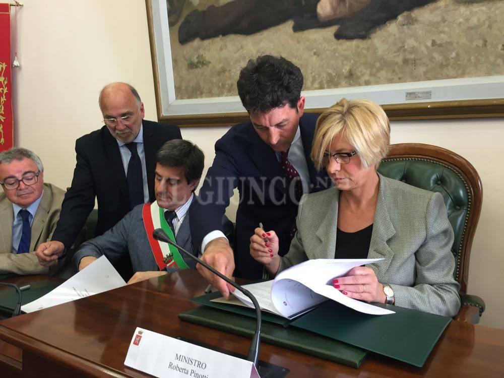 Ministro Difesa Roberta Pinotti 2016