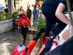 Soccorso sommozzatori in via Senese maltempo giugno 2016