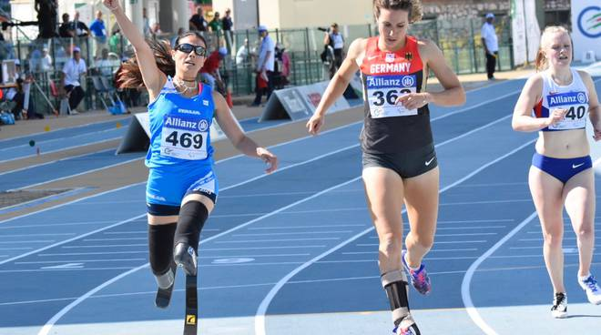 Versace Europei atletica paralimpica