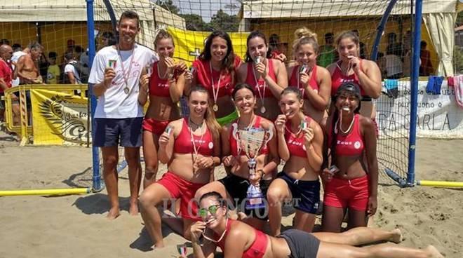 Beach handball femminiale