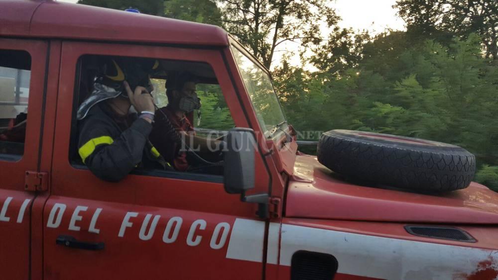 Incendio Maiano Lavacchio luglio 2016