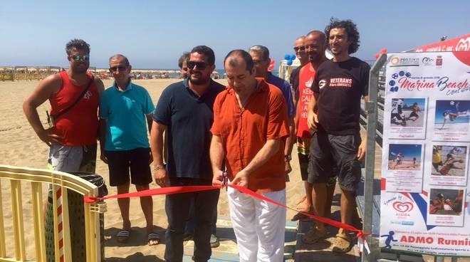 Taglio del nastro Marina Beach Contest