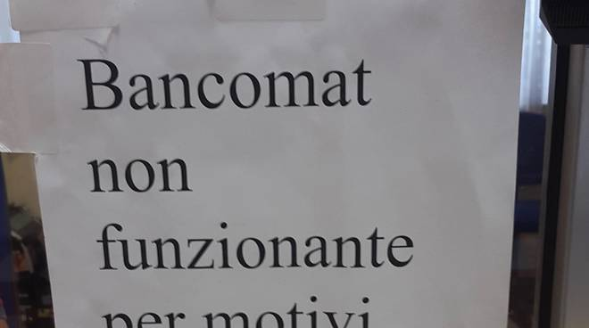 cartello pagobancomat